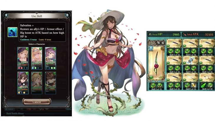 Granblue Fantasy – Rise of the Beasts – Summer Jeanne, Lennah, Rosetta vs Titan − アフィリエイト動画まとめ
