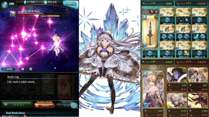 Granblue Fantasy – Water Ultima Staff (Altair, Lily, Europa) Test Run − アフィリエイト動画まとめ