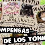 ¡TOP Y TEORÍA! LAS RECOMPENSAS DE LOS YONKOUS – #ONEPIECE – LUFFY NO MI – アフィリエイト動画まとめ