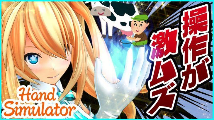 手を操るゲームで海外の人がヤバかったww【Hand Simulator】 − アフィリエイト動画まとめ