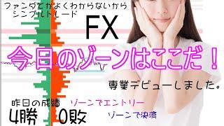 【FXライブ】8/23 1部 ゾーントレード ファンダとかよくわからないからシンプルFX − アフィリエイト動画まとめ