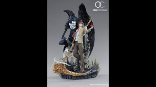 Oniri Creations Death Note diorama Light Yagami and Ryuk statue unboxing and review − アフィリエイト動画まとめ