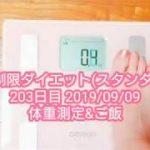 糖質制限ダイエット(スタンダード) 203日目 体重測定&ご飯 − アフィリエイト動画まとめ