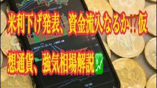 【仮想通貨】リップル最新情報❗️米利下げ発表、資金流入なるか⁉️仮想通貨、強気相場解説💹 − アフィリエイト動画まとめ