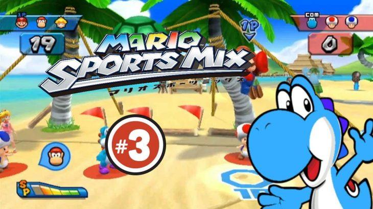 Lets-play-Super-Mario-sports-mix-part-3-Blumen-Prokal