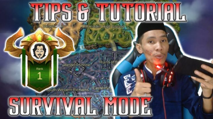 Tutorial-Dan-Tips-Survival-Mode-Game-Play-By-Adam-Tubs-Di-Mobile-Legends-Indonesia