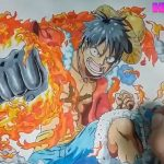 cách vẽ tranh Luffy vua hải tặc how to draw Monkey D  Luffy-new – アフィリエイト動画まとめ