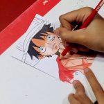 Menggambar dan mewarnai karakter One Piece – Monkey D Luffy – アフィリエイト動画まとめ