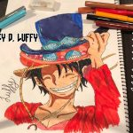 COMO DIBUJAR A MONKEY D. LUFFY how to draw luffy ONE PIECE SPEED DRAW – アフィリエイト動画まとめ
