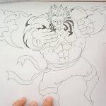 วาดรูปลูฟี่ drawing monkey d. luffy gear 4 – one piece – アフィリエイト動画まとめ