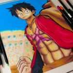 Speed Drawing – Monkey D. Luffy – One Piece: Burning Blood (Desenho Gamer) – アフィリエイト動画まとめ