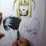 Speed Drawing – Light Yagami, Misa Amane e L [DEATH NOTE] − アフィリエイト動画まとめ