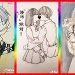 【ティックトック イラスト】ック絵   Tik Tok Paint Anime #64 – アフィリエイト動画まとめ
