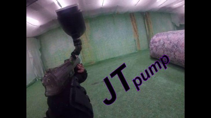 Jt-ER-2-Pump-pistol-paintball-game-play