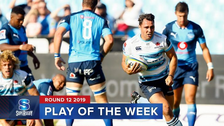PLAY OF THE WEEK | Super Rugby 2019 Rd 12 − アフィリエイト動画まとめ