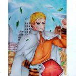 Drawing – Naruto Uzumaki 7th Hokage (Naruto Shippuden ナルト疾風伝 ) [COLLAB] − アフィリエイト動画まとめ