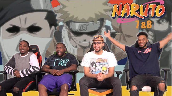 Team 7 vs Zabuza! Naruto Episodes 7 & 8 REACTION/REVIEW − アフィリエイト動画まとめ
