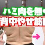 【ダイエット】7分で背中痩せ!背中のハミ肉をスッキリ解消【背中痩せ】 − アフィリエイト動画まとめ