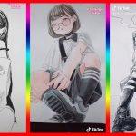 【ティックトック イラスト】ック絵   Tik Tok Paint Anime #112 – アフィリエイト動画まとめ