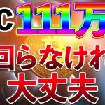 【仮想通貨】急下落!! ビットコインは111万円を下回らなければ大丈夫です!! − アフィリエイト動画まとめ