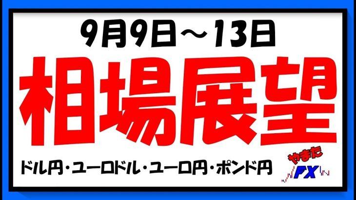 【FX】9月9日~9月13日相場展望(ドル円・ユーロドル・ユーロ円・ポンド円)2019 − アフィリエイト動画まとめ