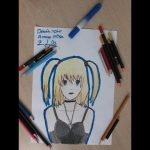 Misa Amane Drawing(Çizimi) (Death Note) − アフィリエイト動画まとめ