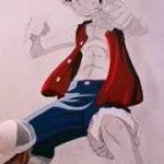 Dibujo plano de Monkey D'Luffy (ONE PIECE) – アフィリエイト動画まとめ