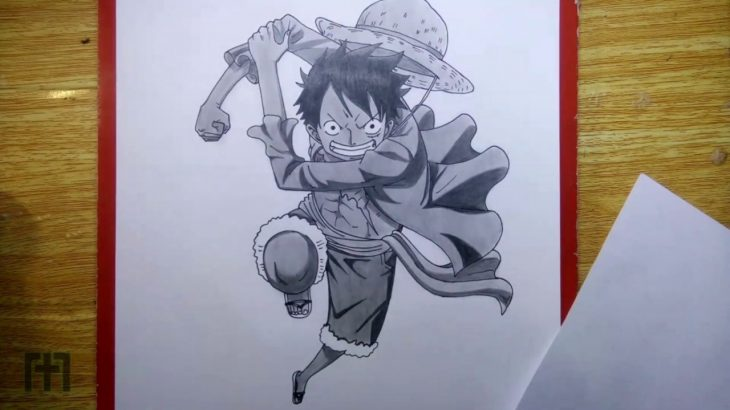 One Piece – Monkey D  Luffy Drawing (Timelapse) – アフィリエイト動画まとめ