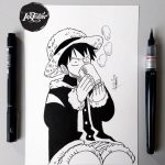 SPEED DRAWING – MONKEY D. LUFFY – ONE PIECE – アフィリエイト動画まとめ