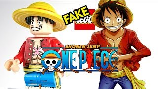"Fake Lego One Piece ""Straw Hat"" Monkey D Luffy Custom Minifigures – アフィリエイト動画まとめ"