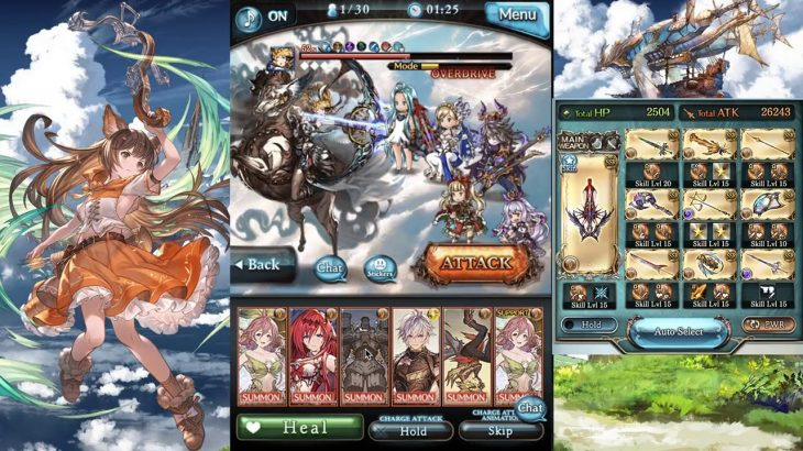 Granblue Fantasy – Earth Cagliostro November 2019 Rebalance Showcase − アフィリエイト動画まとめ