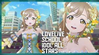 [스쿠스타] 「Evergreen」하나마루 이벤트 UR ver. Lovelive school idol festival All stars Hanamaru Special Stage − アフィリエイト動画まとめ
