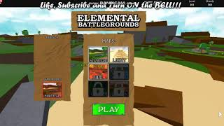 Roblox Elemental battle grounds game play − アフィリエイト動画まとめ