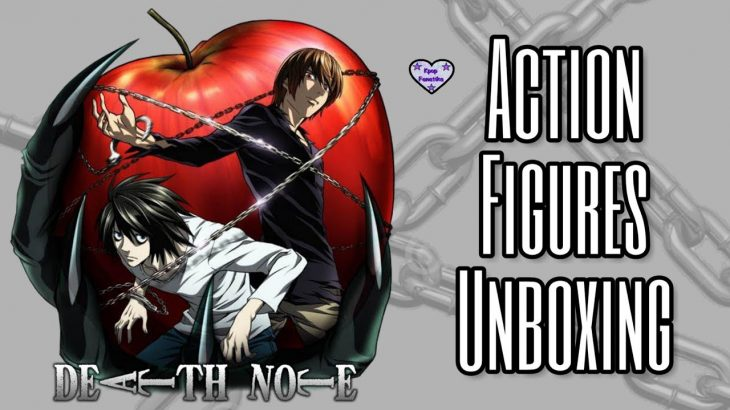 DEATH NOTE ACTION FIGURES UNBOXING: Misa, Ryuk & Near // ANIME UNBOXING − アフィリエイト動画まとめ