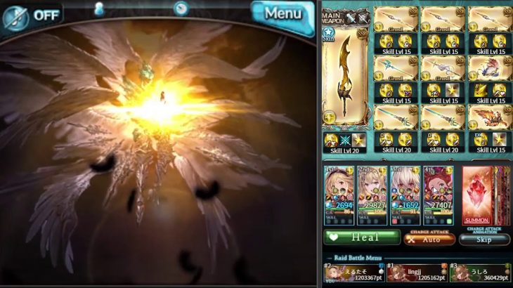 [Granblue Fantasy] Double Zeus & Grand Jeanne d'Arc Test @ Lucilius HL (with reload) − アフィリエイト動画まとめ