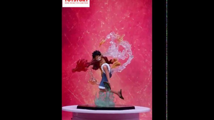 Mô hình Figure Luffy Hàng Chuẩn – Fire Battle One Piece – Monkey D Luffy – Trạng Thái Chiến Đấu Cao – アフィリエイト動画まとめ