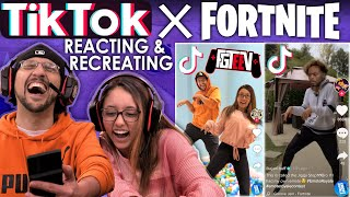 TIK TOK x FORTNITE EMOTE ROYALE CONTEST!  FGTEEV Reacting & Recreating Unique Dances – アフィリエイト動画まとめ